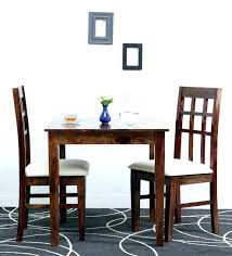Two Seat Dining Table Set In Provincial Teak Finish By 12