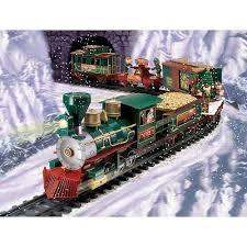 Ez Tec 37260 North Pole Express Christmas Train Set