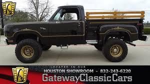 100 Warlock Truck 1977 Dodge W100 Gateway Classic Cars 1135HOU