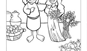 Ruth Coloring Pages And Boaz