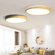 mdwell moderne led deckenleuchten für wohnzimmer moderne runde decke le holz schlafzimmer leuchte holz küche beleuchtung