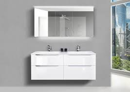 doppelwaschtisch 140 cm badmöbel set nizza mit led spiegelschrank made in germany