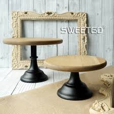 Wood Cake Stands Vintage Wedding Decoration Home Baking Coffee Shop Display Plates Photo Props Food Tray Cupcake Stand In From