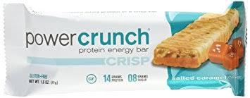 Bio Nutritional Research Group Power Crunch Crisp Salted Caramel Escape Bar 12 Count