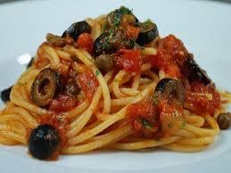pates a la puttanesca spaghetti alla puttanesca italian traditional recipe
