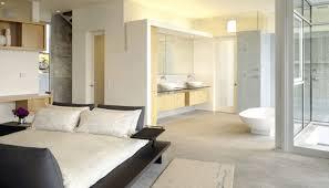 Simple Open Plan Bathroom Ideas Photo by Open Plan Bedroom Bathrooms Bare Island Building Plans