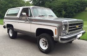 Chevrolet Blazer - Wikipedia 1972 Chevy K20 4x4 34 Ton C10 C20 Gmc Pickup Fuel Injected The Duke Is A 72 C50 Transformed Into One Bad Work Chevrolet Blazer K5 Is Vintage Truck You Need To Buy Right 4x4 Trucks Chevy Dually C30 Tow Hog Ls1tech Camaro And Febird 3 4 Big Block C10 Classic Cars For Sale Michigan Muscle Old Lifted Ford Matt S Cool Things Pinterest Types Of 1971 Custom 10 Orange 350 Motor Custom Camper Edition Pick Up For Youtube 1970 Cst Stunning Restoration Walk Around Start Scotts Hotrods 631987 Gmc Chassis Sctshotrods