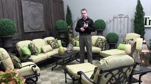 Gensun Patio Furniture Florence by Gensun Florence Outdoor Furniture Overview Youtube