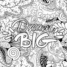 Inspirational Word Coloring Pages 35 GetColoringPagesorg