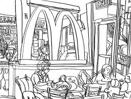 Mcdonalds Coloring Pages Inside