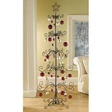 An Ornament Display Stand Or Tree Is A Metal With Branches That Allows