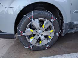 Subaru Outback Questions - Can Cable Type Snow Chains Be Used On A ...