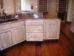 How To Paint Cabinets Distressed White
