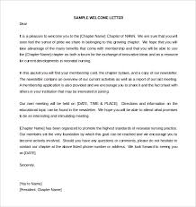 31 HR Wel e Letter Template Free Sample Example Format