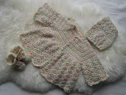 free crochet patterns baby sweater set html in unowadopewo github
