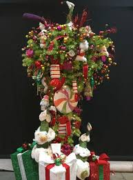A Cute Upside Down Christmas Tree Decoration