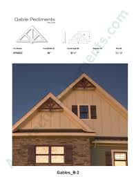 100 Architecture Gable Architectural Elements Inc End Brackets