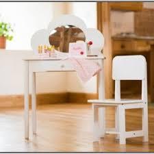 Kidkraft Deluxe Vanity And Chair Set by Disney Princess Vanity Table And Chair Set Chairs Home
