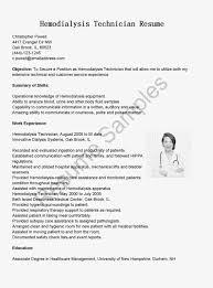 Resume Dialysis Acute Nurse