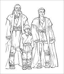 This Star War Coloring Page Has Three Famous Characters In One You Can Easily Download Picture Get It Printed And Color Choice Of Your