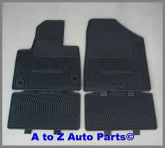 Jeep Commander Floor Mats Oem by New 2013 2017 Hyundai Santa Fe Sport All Weather Floor Mats Set