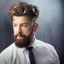 fade hairstyle for men with beard hairstylevill