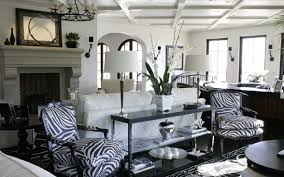 Cheetah Print Living Room Ideas Modest On Intended For Leopard Home Decor Top Mural 14