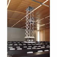 motorised projector screen mount lift 1500mm drop accessories