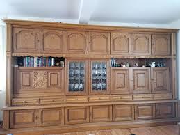wohnzimmerschrank eiche rustikal antik