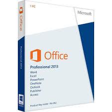 Microsoft fice Professional 2013 License PC