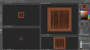 How To Draw Wood Grain And Wooden Crates