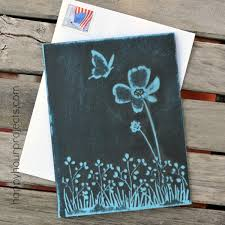 Easy Embossed Greeting Card At Happyhourprojects