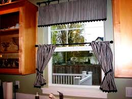 Kitchen Curtain Ideas For Large Windows by Furniture Personable Kitchen Curtain Ideas For Bay Window