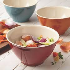 Rachael Ray Curry Pumpkin Soup by Amazon Com Rachael Ray Cucina Pantryware Melamine Garbage Bowl