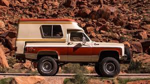 1976 Chevy Blazer Chalet Bed Camper Yours For Just Below $20K