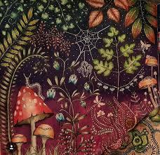 Secret Garden Coloring Book Johanna Basford Adult Books Joanna Colored Pencils Colouring Techniques Enchanted