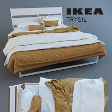 3d models bed trysil