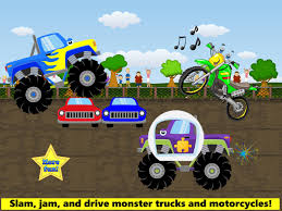 100 Kids Monster Trucks Games For Toddler Free For Android APK