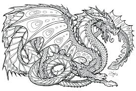Ninjago Fire Dragon Coloring Pages