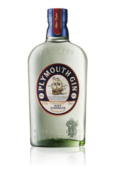 Plymouth Gin Navy Strength - 750 ml bottle