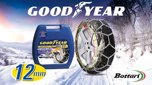 Snow Chains 12 Mm Goodyear: Ideal For SUV, Vans And Campers - Bottari.it
