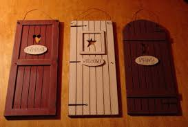country outhouse welcome privy 3 rustic bathroom door signs set
