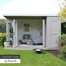 100 Contemporary Summer House 12 X 8 Waltons House With Side Shed In 2019