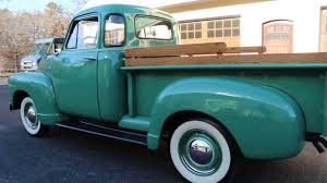1951 Chevrolet 3100 5 Window Pick Up Truck For Sale~Straight 6~3 On ...