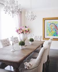 dining room decor 2 chandeliers light fixtures