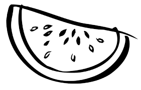 Extraordinary Watermelon Coloring Page 68 For Coloring Pages for Kids line with Watermelon Coloring Page