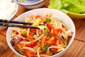 cuisiner avec un wok légumes au wok recettes de cuisine japonaise