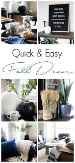 quick and easy fall room decor love create celebrate
