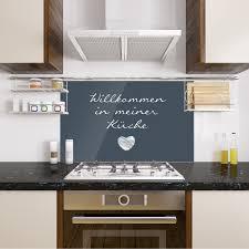 spritzschutz herd grau willkommen in meiner küche