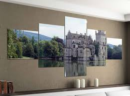 acrylglasbilder 5 teilig 200x100cm schloss anif österreich wasserschloß druck acrylbild acryl acrylglas bilder bild 14f1089 wandtattoos und